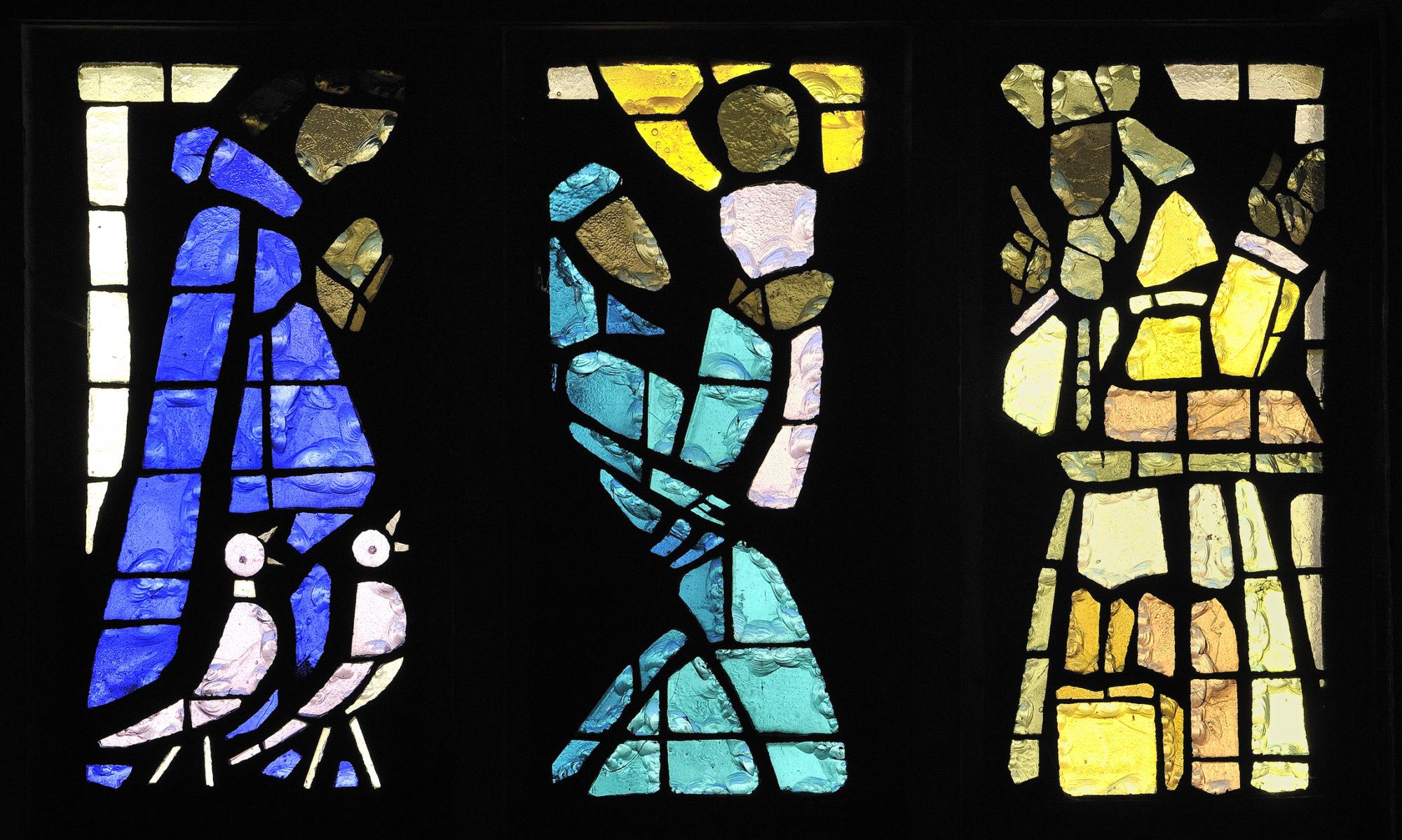 Les vitraux de Gabriel Loire à Kervignac